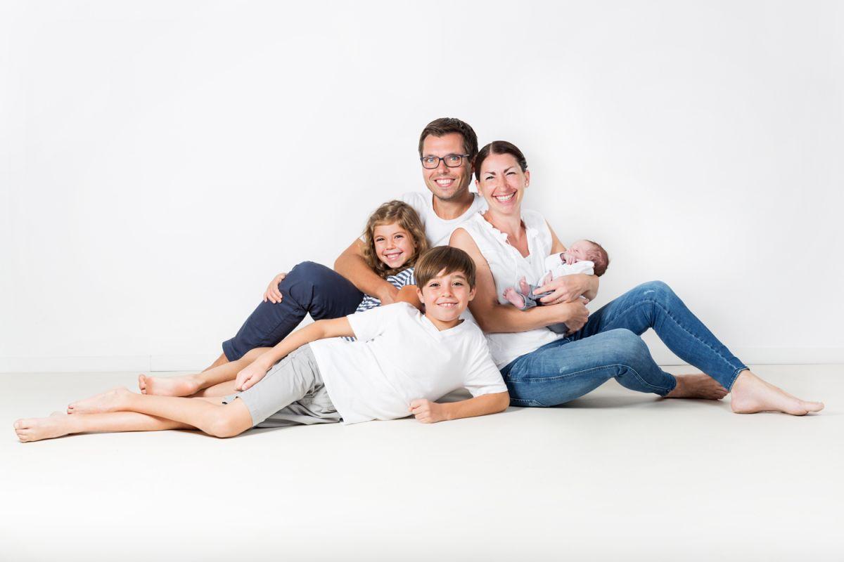 neugeborenenfotos mit eltern
